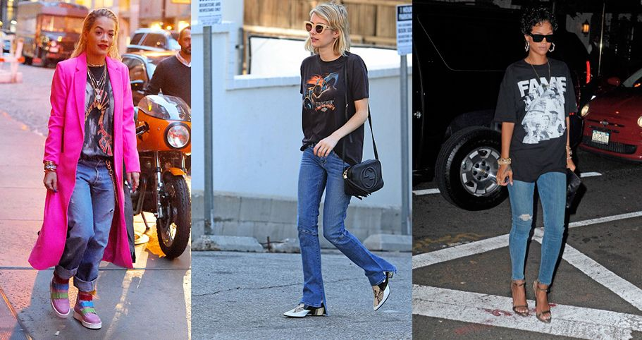 How To Style Retro T Shirts