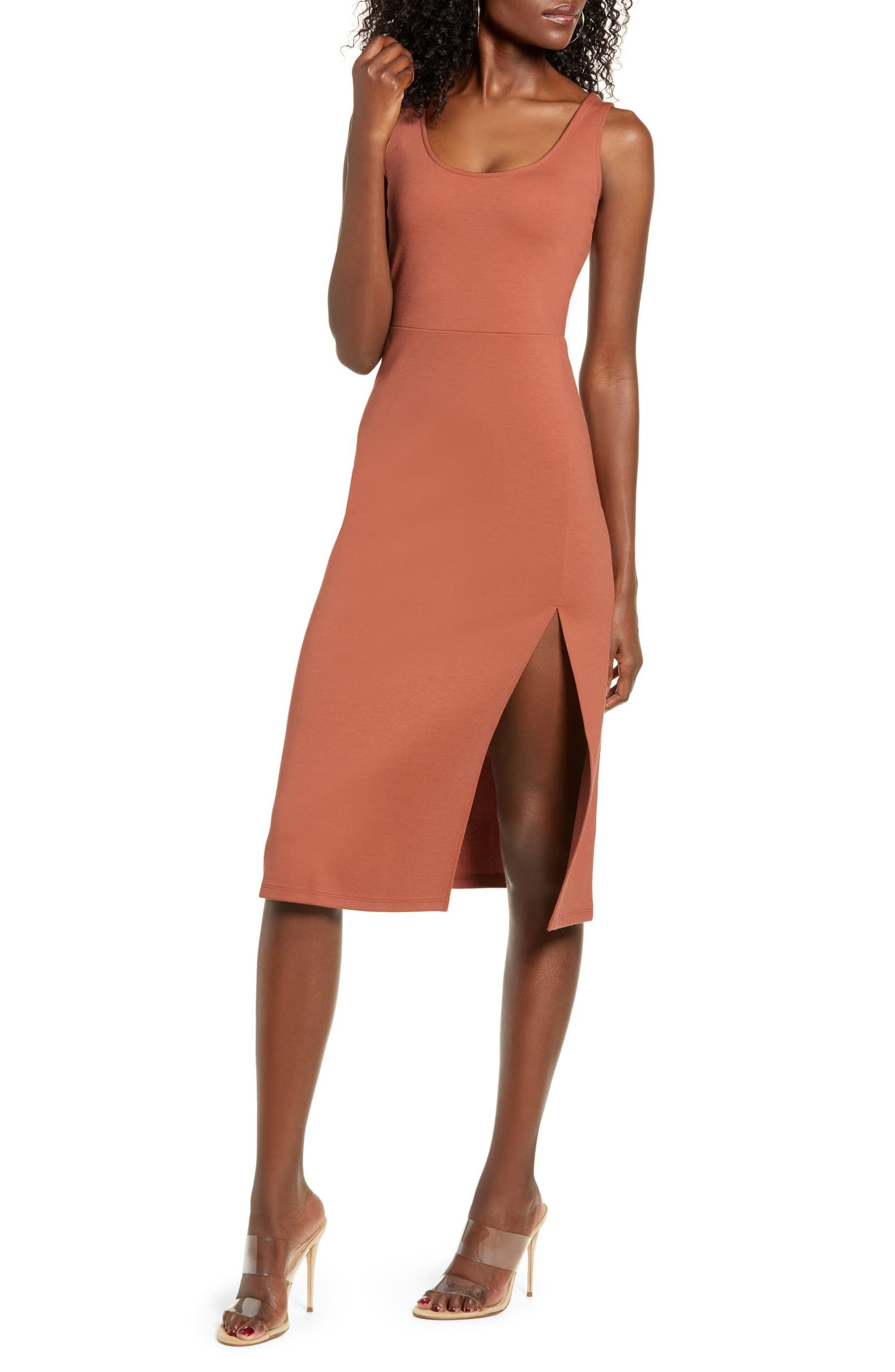 How To Style Scoop Neck Dress