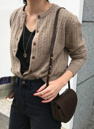 How To Style Short Cardigan