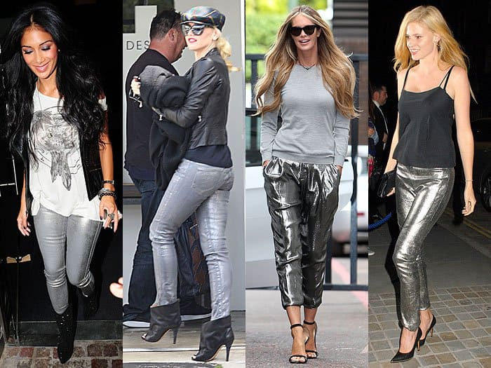How To Style Silver Jeans