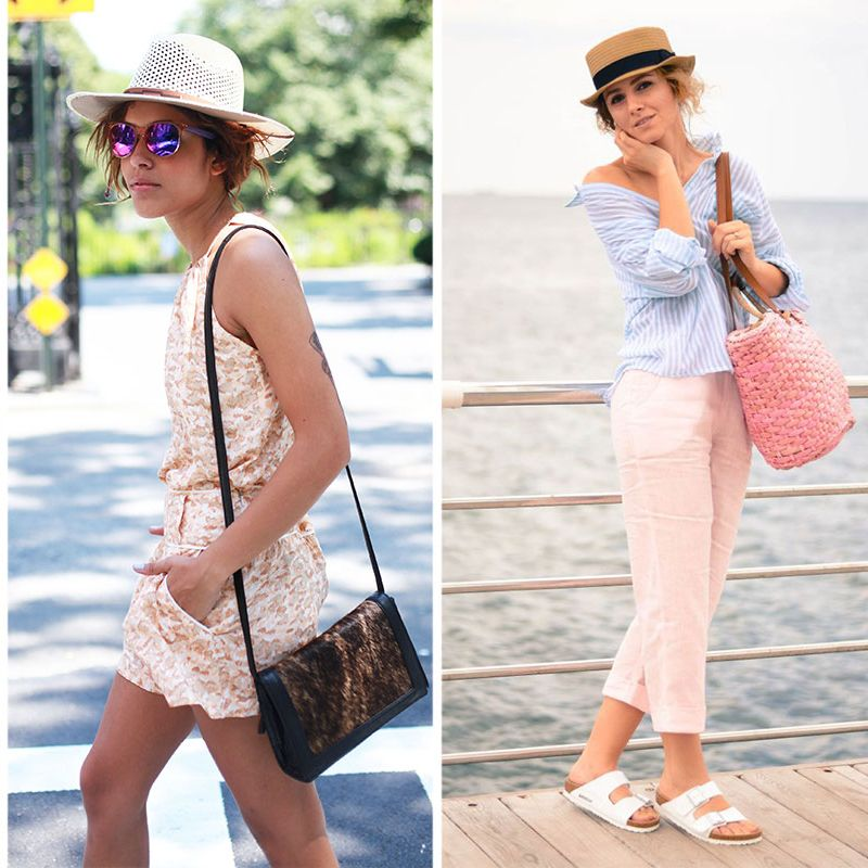 How To Style Straw Hat