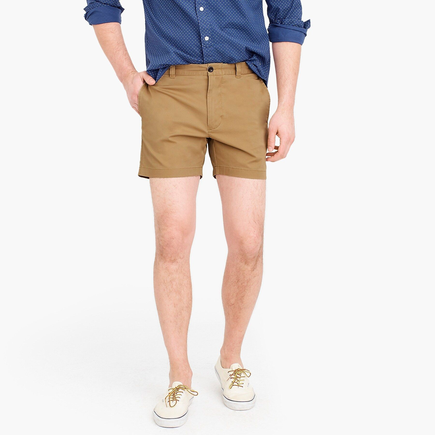 How To Style Stretch Shorts