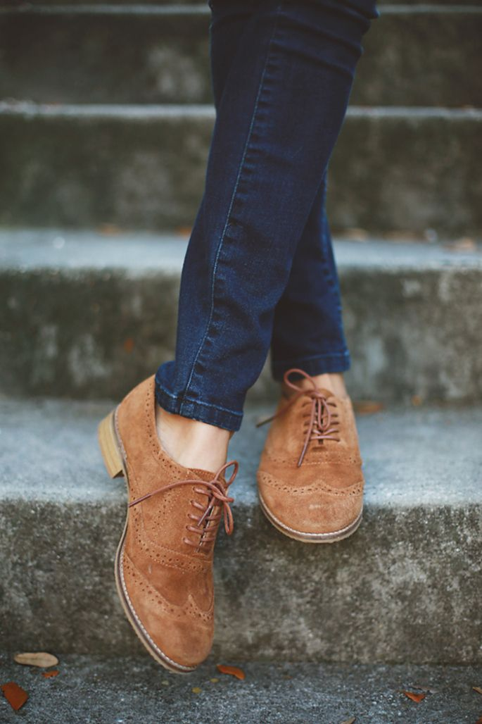 How To Style Suede Oxford Shoes