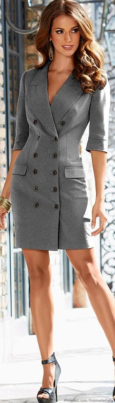 How To Style Suit Jacket Dress