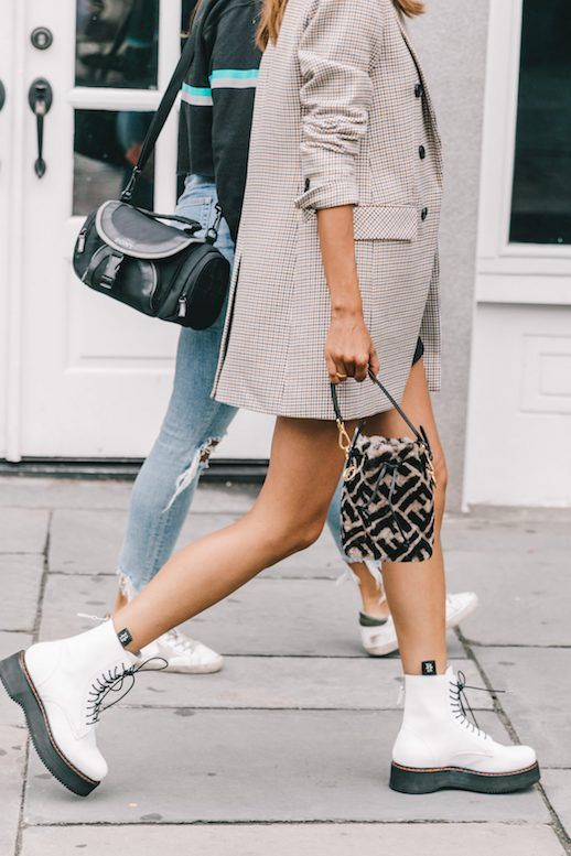 How To Style White Combat Boots