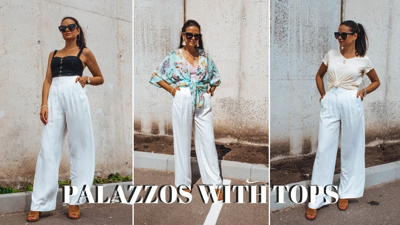 How To Style White Palazzo Pants