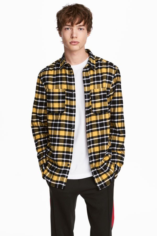 How To Style Yellow Plaid Shirt
