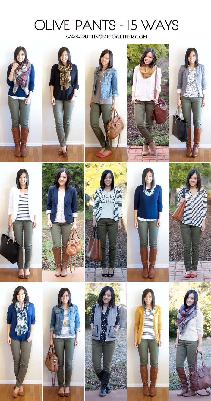 How To Wear Army Green Pants