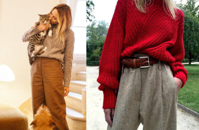 How To Wear Big Sweater