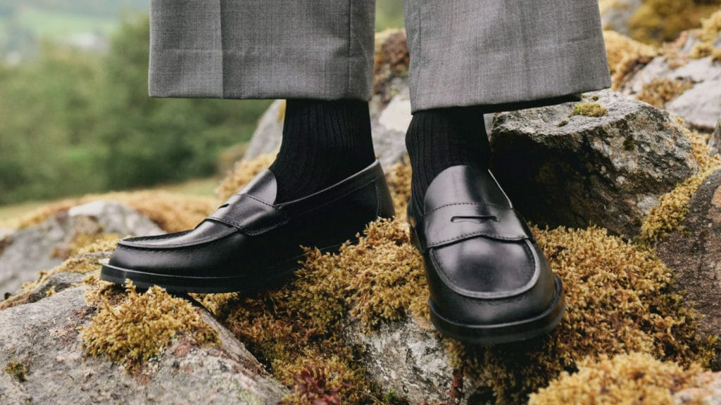 How To Wear Black Penny Loafers
