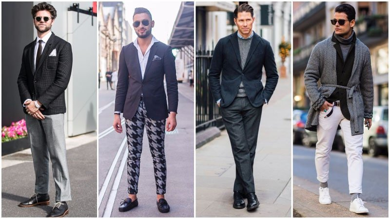 How To Wear Black Sports Coat