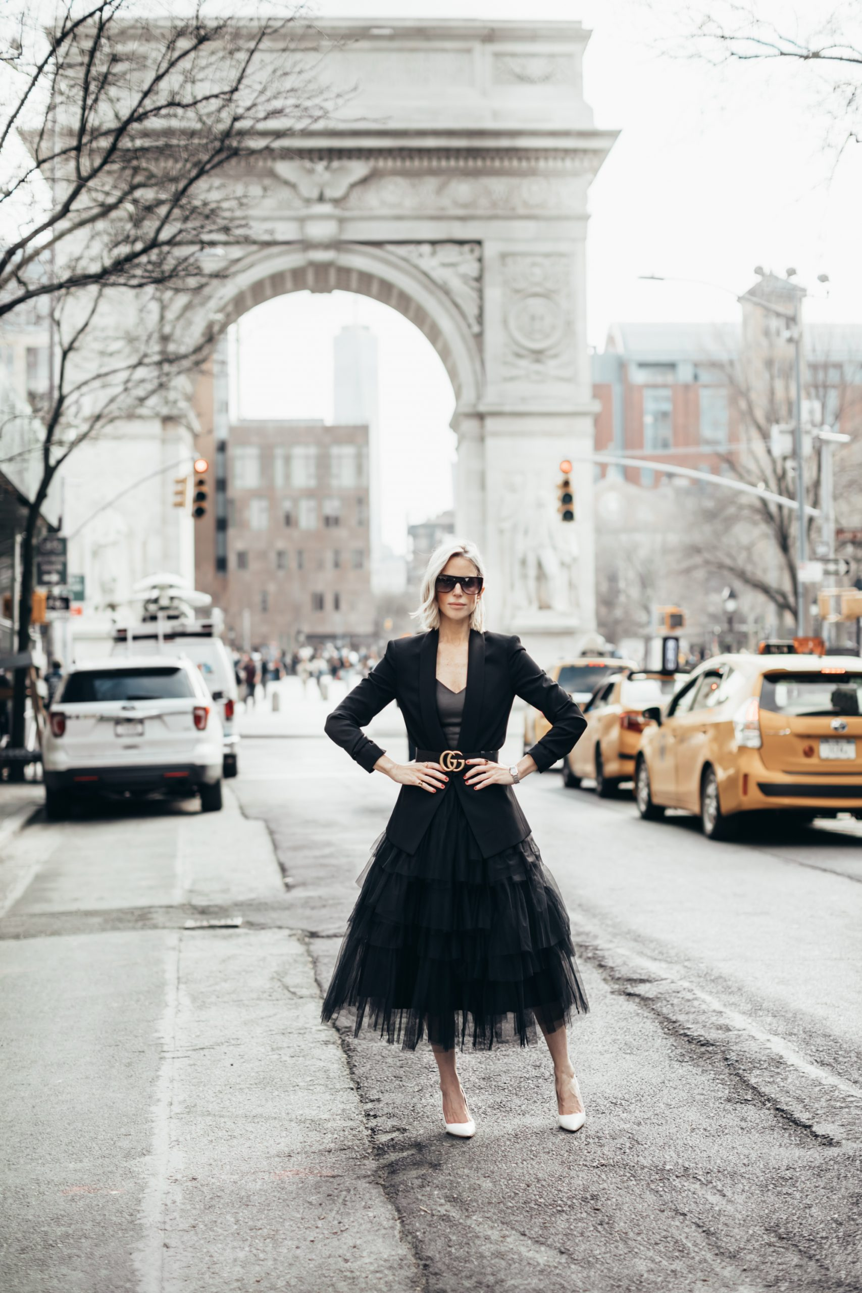 How To Wear Black Tulle Dress