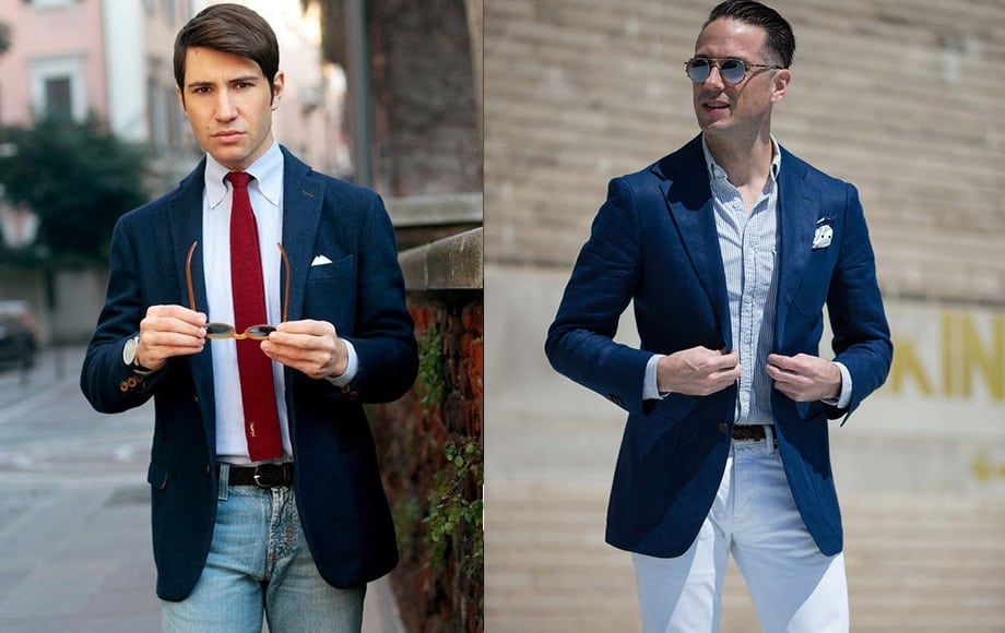 How To Wear Blue Blazer
