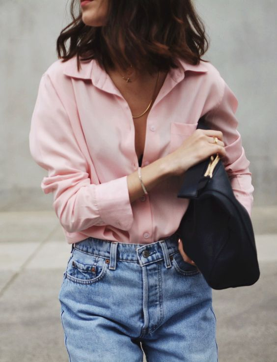 How To Wear Blush Tops
