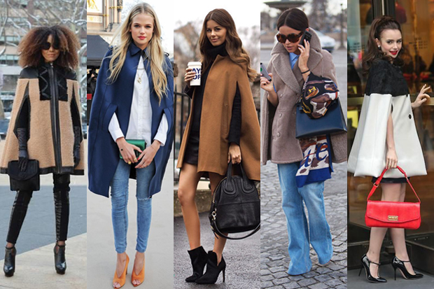 How To Wear Cape Coat