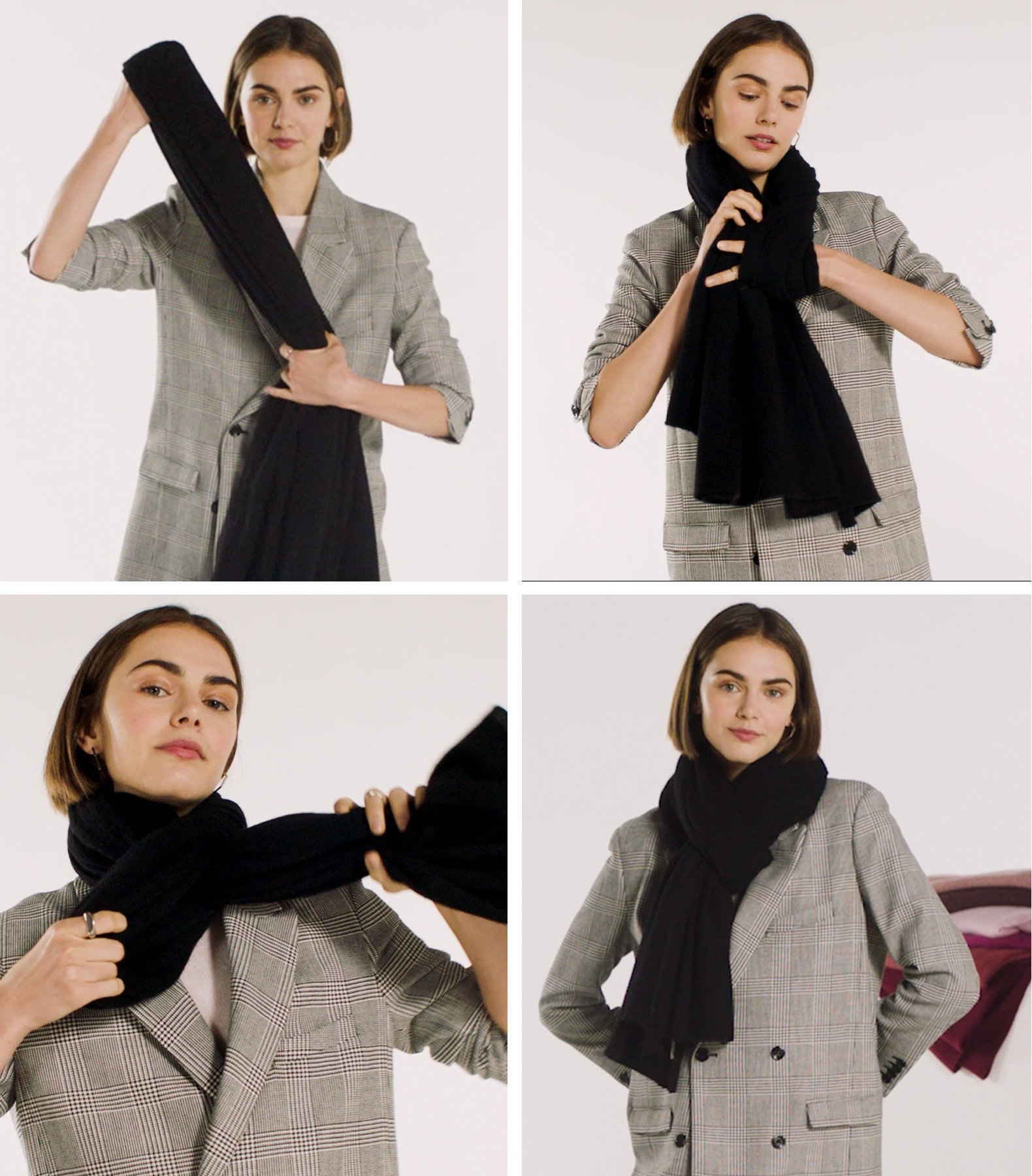 How To Wear Cashmere Wrap