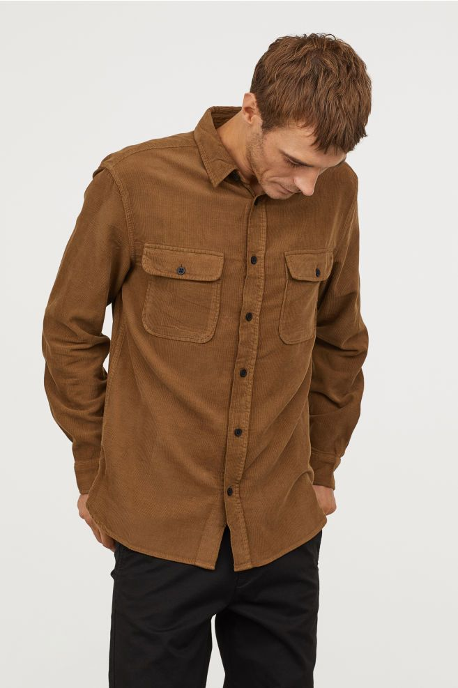 How To Wear Corduroy Shirt