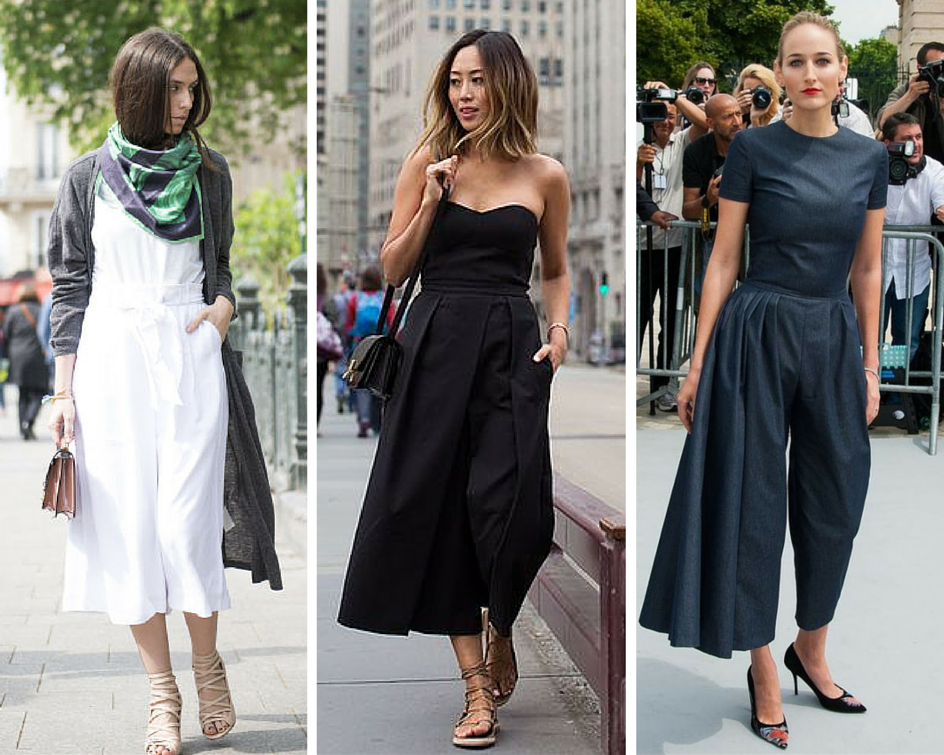 How To Wear Culotte Jumpsuit
