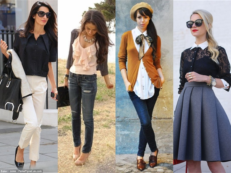 How To Wear Cute Blouse