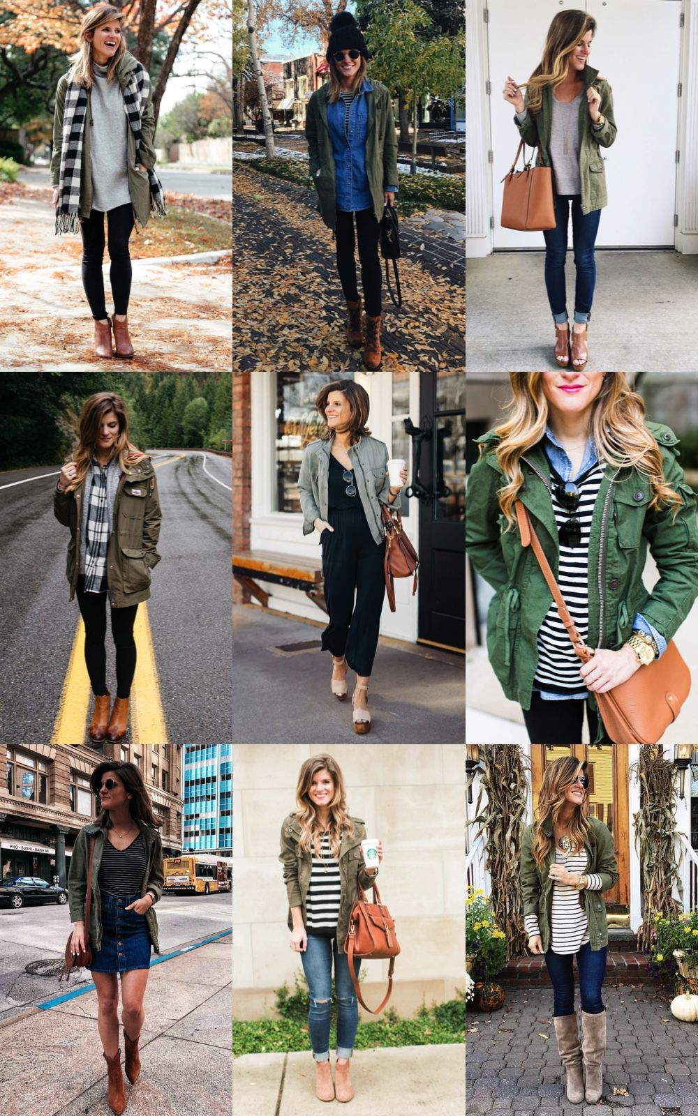 How To Wear Fall Jacket
