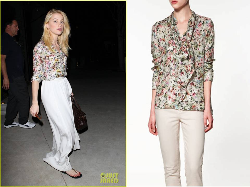 How To Wear Floral Blouse