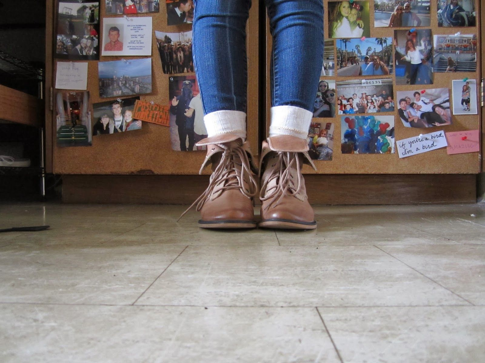 How To Wear Fold Over Boots