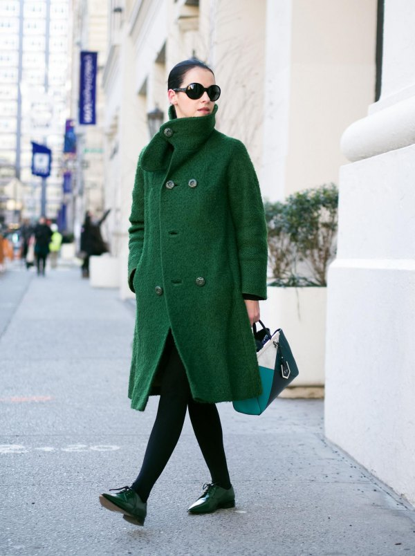How To Wear Forest Green