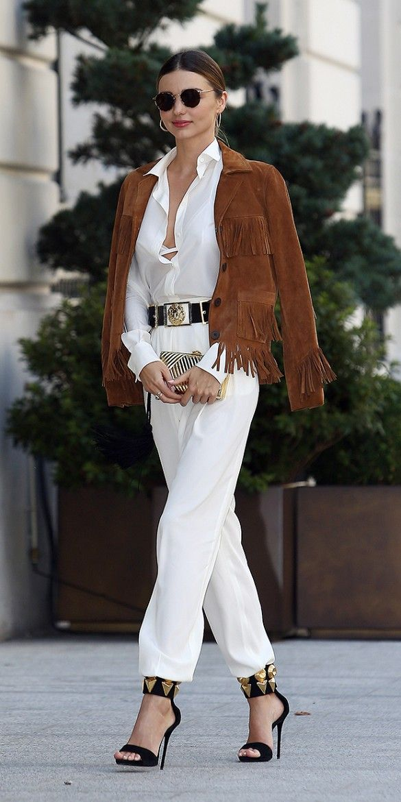 How To Wear Fringe Top