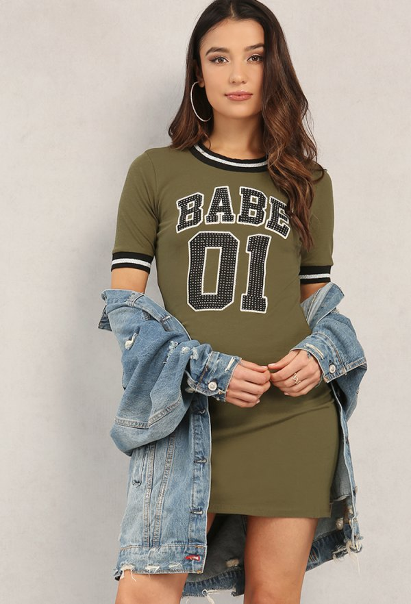 How To Wear Graphic T Shirt Dress