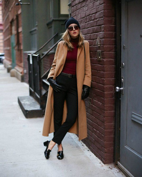 How To Wear Heeled Loafers