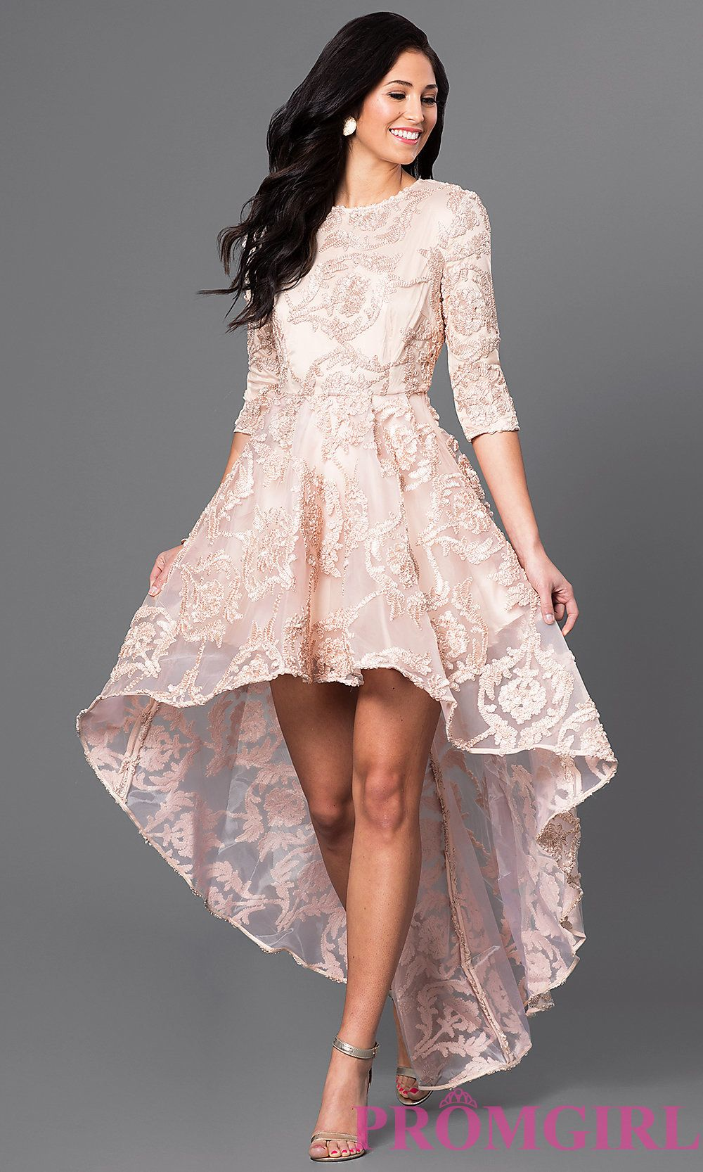 How To Wear High Low Lace Dress