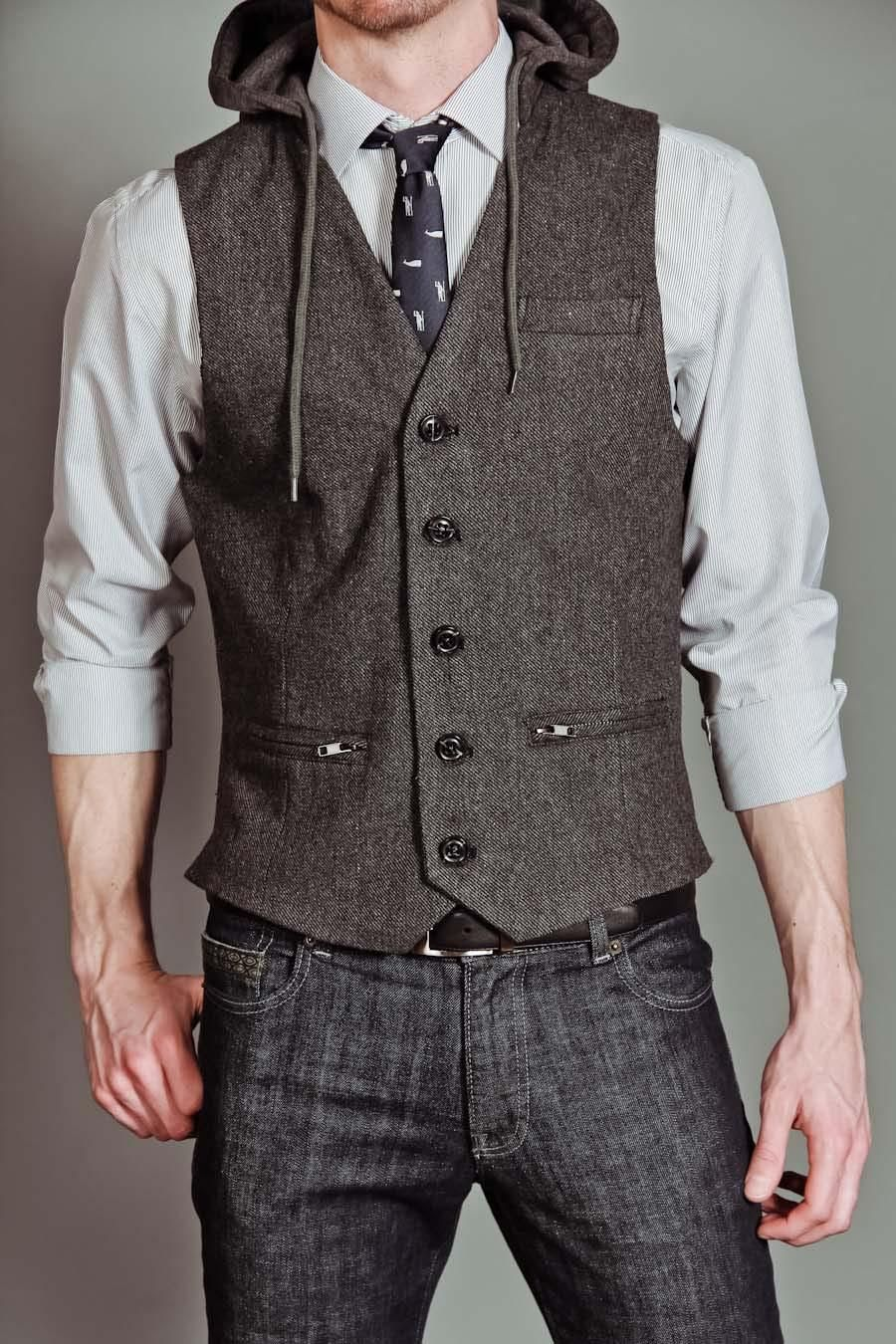 How To Wear Hooded Vest