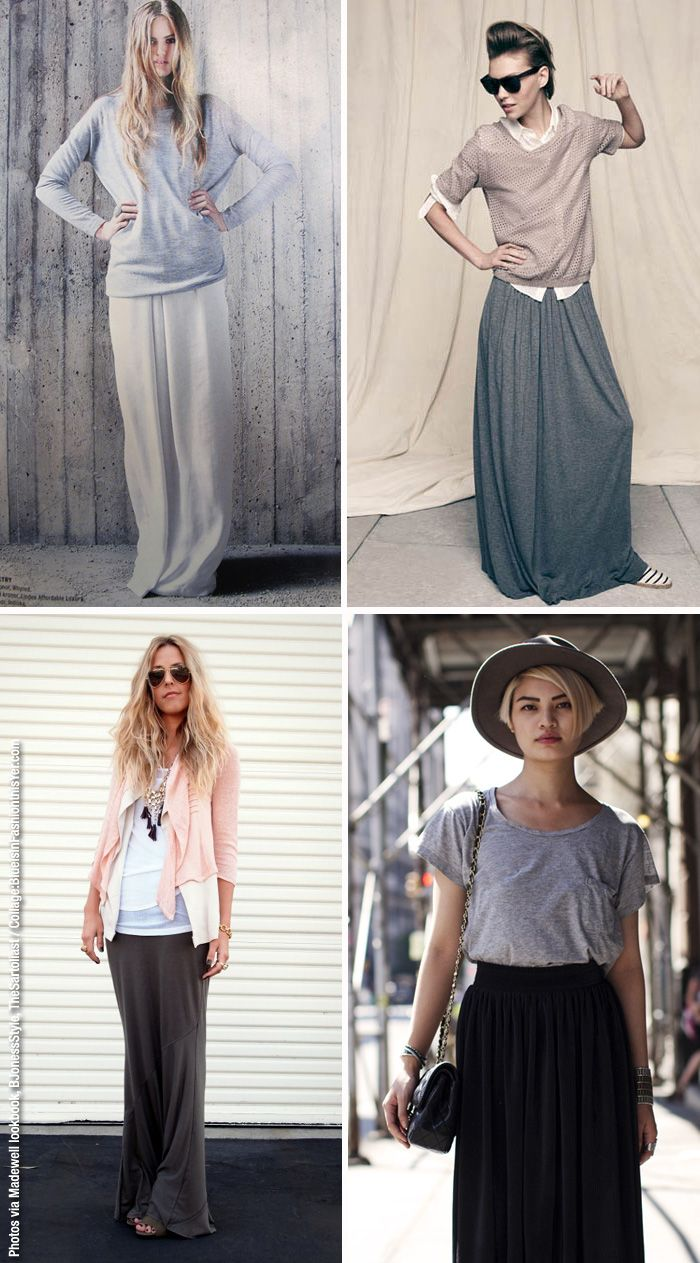 How To Wear Jersey Maxi Dress