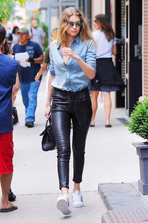 How To Wear Lace Leather Pants