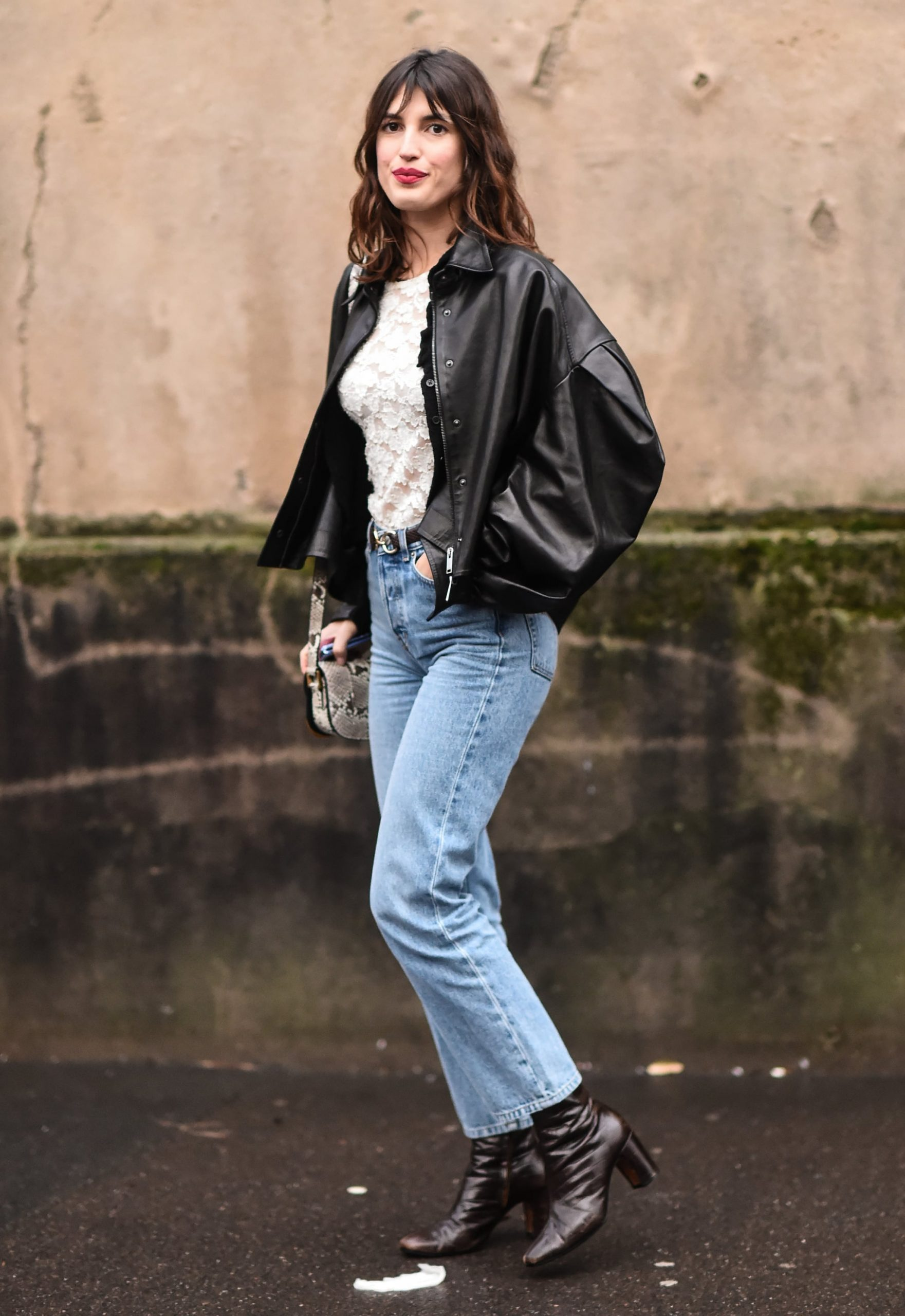 How To Wear Leather Ankle Boots