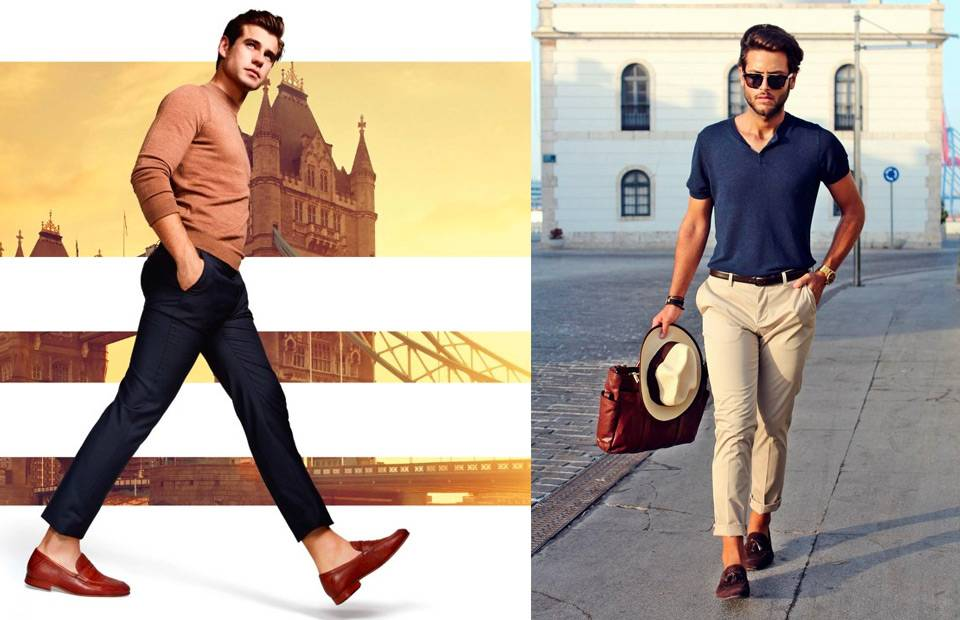 How To Wear Leather Loafers