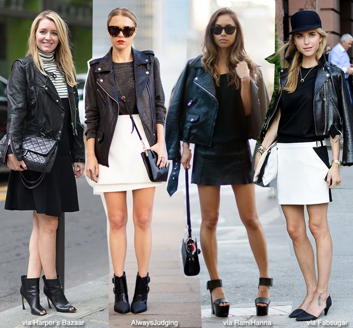 How To Wear Leather Motorcycle Jacket