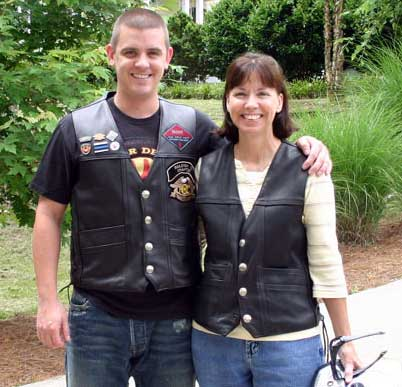 How To Wear Leather Motorcycle Vest
