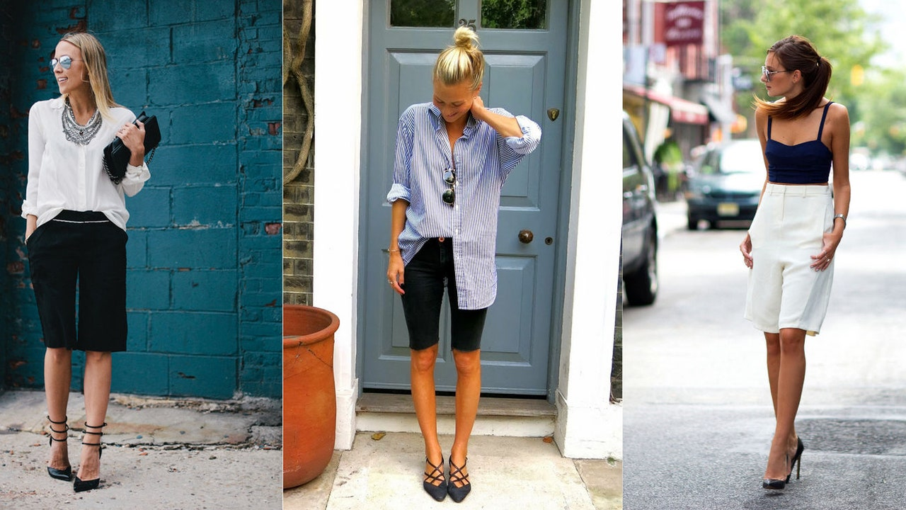 How To Wear Long Shorts