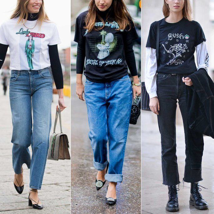 How To Wear Long Sleeve Graphic T Shirt