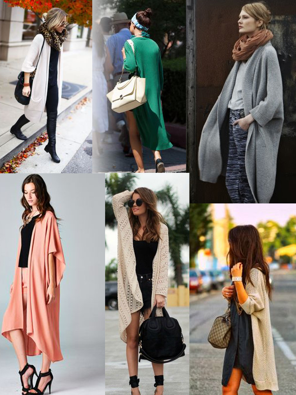 How To Wear Long Sweater