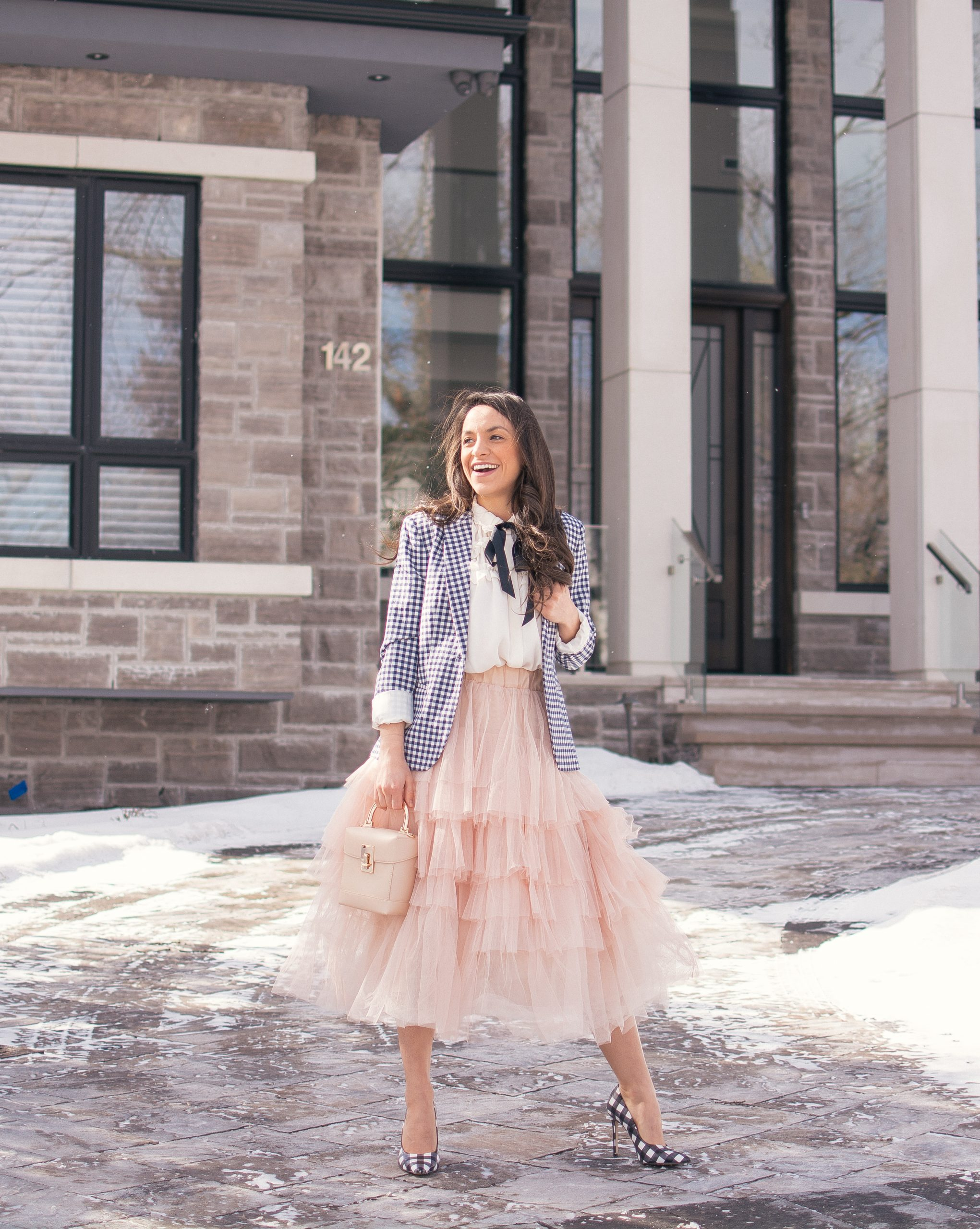 How To Wear Long Tulle Skirt