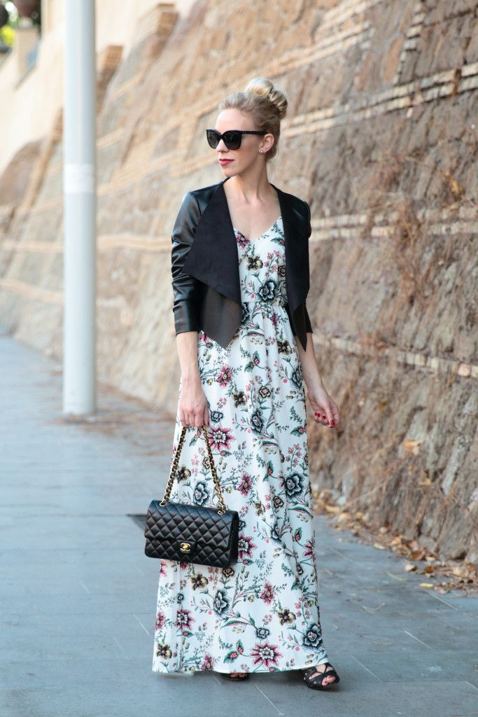 How To Wear Maxi Jacket