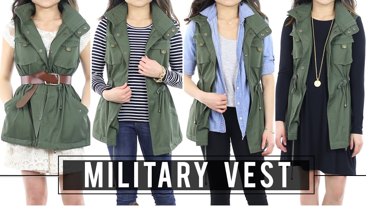 How To Wear Military Vest