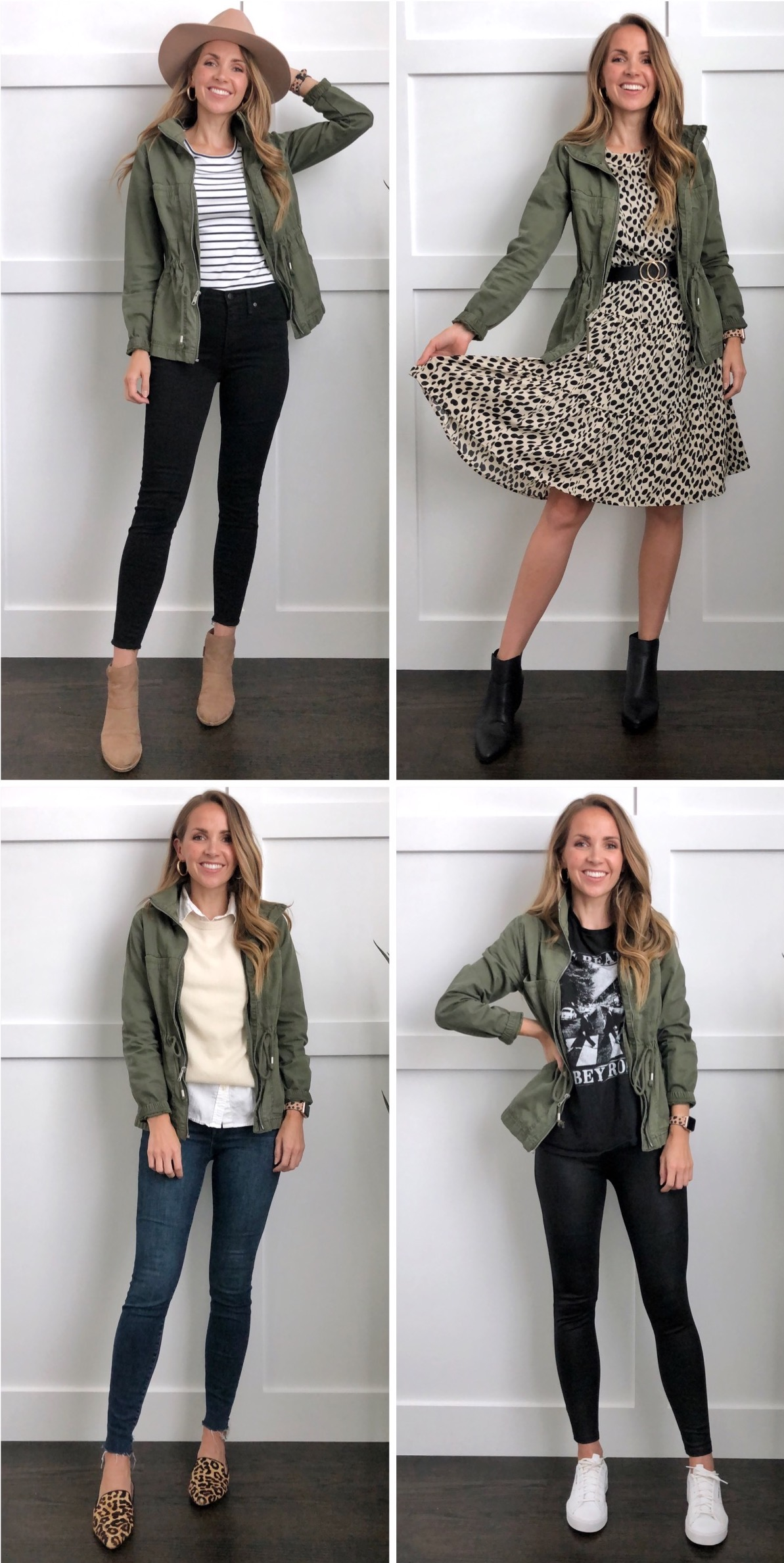 How To Wear Olive Jacket