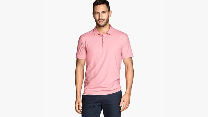 How To Wear Pink Polo Shirt