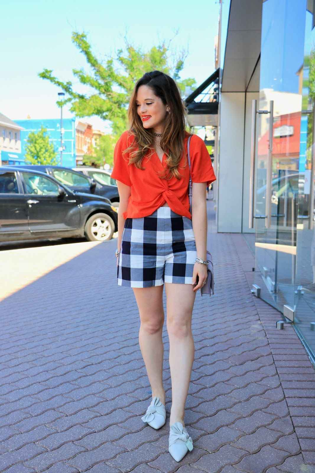 How To Wear Plaid Shorts