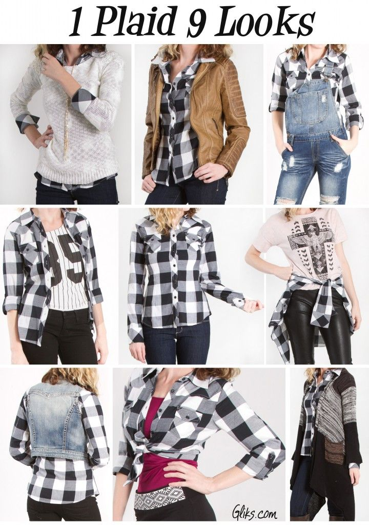 How To Wear Plaid Tunic