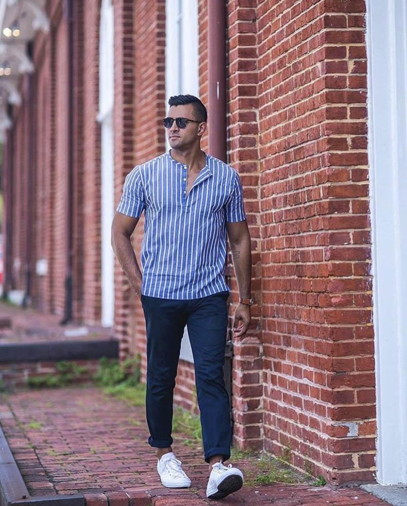 How To Wear Popover Shirt