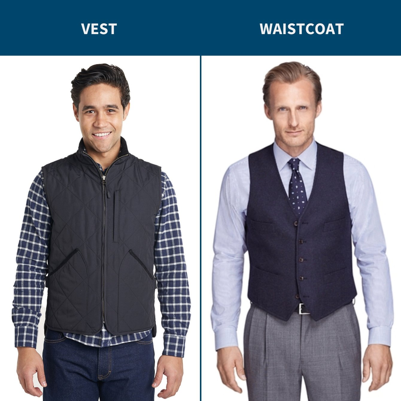 How To Wear Quilted Vest